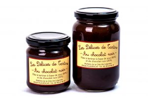 """""""Les Délices de Tartine"""". Pâte à tartiner au Miel & au Chocolat Noir"""