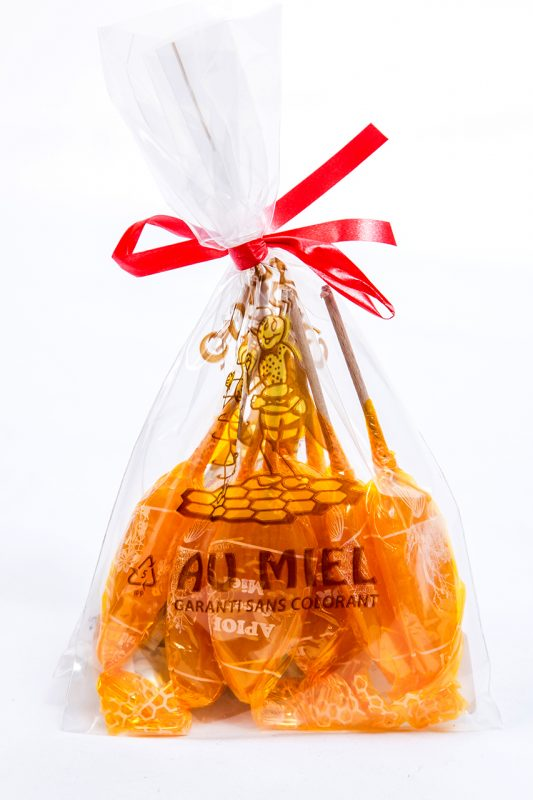 Sucettes Miel/Orange