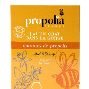 Propolis   Gommes à sucer Miel Orange