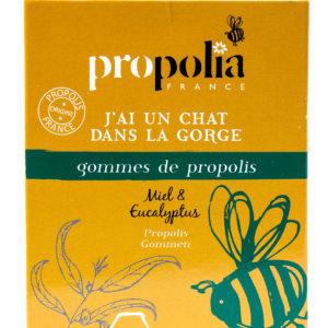 Propolis   Gommes à sucer Miel Eucalyptus