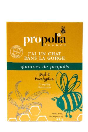 Propolis | Gommes à sucer Miel Eucalyptus